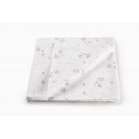 "Муслиновая пеленка для новорожденных ""Mint Stars"",  120x120"