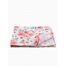 """Муслиновая пеленка для новорожденных """"Roses"""",  120x120, Firstday, ТУ"""