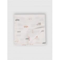 """Муслиновая пеленка для новорожденных """"Cars"""", 120x120, Firstday, ТУ"""