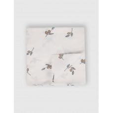 """Муслиновая пеленка для новорожденных """"Olives"""", 120x120, Firstday, ТУ"""