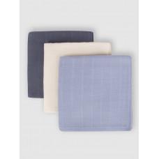 """Набор муслиновых пеленок для новорожденных """"Sky colors"""",  80x80, 3шт,  Firstday, ТУ"""