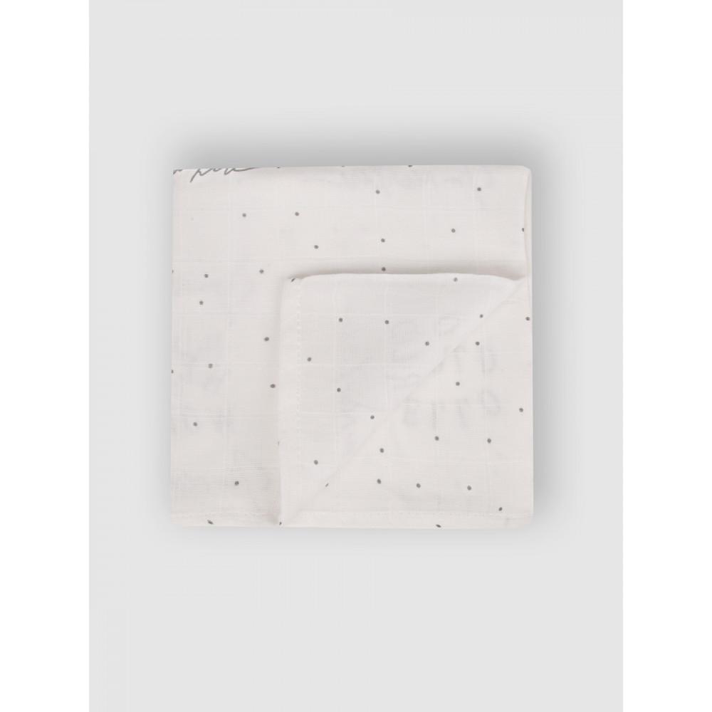 """Набор муслиновых пеленок для новорожденных """"Blue balloons"""",  80x80, 3шт,  Firstday, ТУ"""