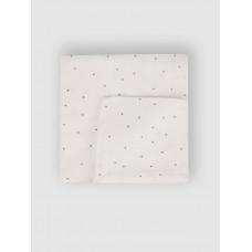 """Муслиновая пеленка для новорожденных """"Горошек"""", 80x80, Firstday, ТУ"""