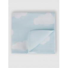 """Муслиновая пеленка для новорожденных """"Облака"""",  80x80, Firstday, ТУ"""