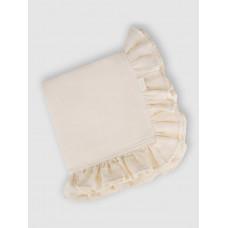 """Муслиновое одеяло """"Vanilla Ice"""" с рюшами, 100x100, Firstday, ТУ"""